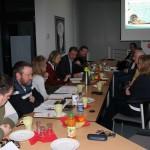 SelbstAktiv Sachsen-Anhalt im Gespräch mit Dr. Ronald Brachmann (Bildmitte) Vorsitzender des Ausschusses für Inneres und Sport der SPD Landtagsfraktion