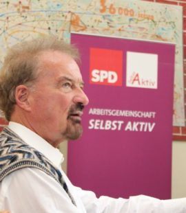 Klausurtagung Selbst Aktiv 12.09.2015 in Stendal Bundesvorsitzender Karl Finke